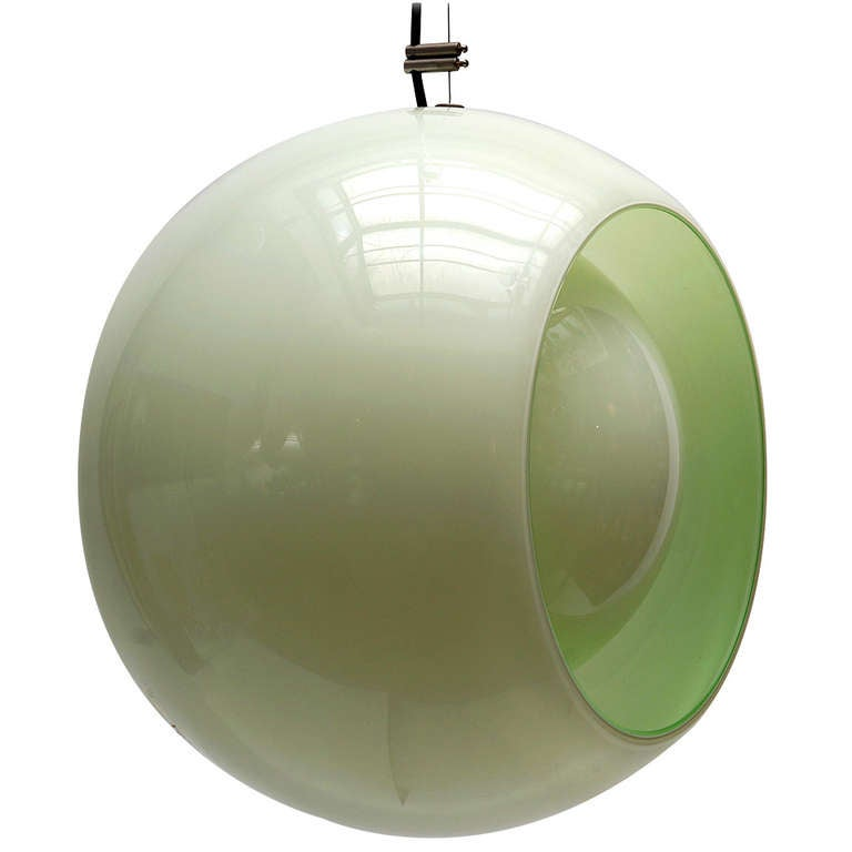 Globe Pendant by Carlo Nason for Mazzega