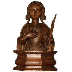 Bust of a Female Martyr
