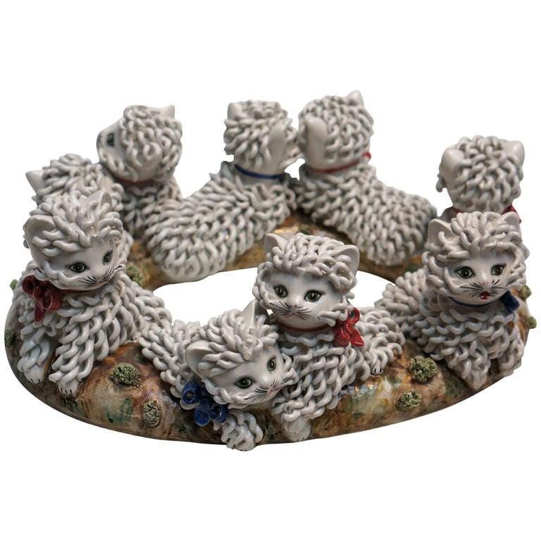 Italian Ceramic Cats
