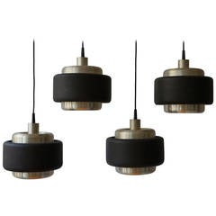 Set of Four Philips Ceiling Lamps