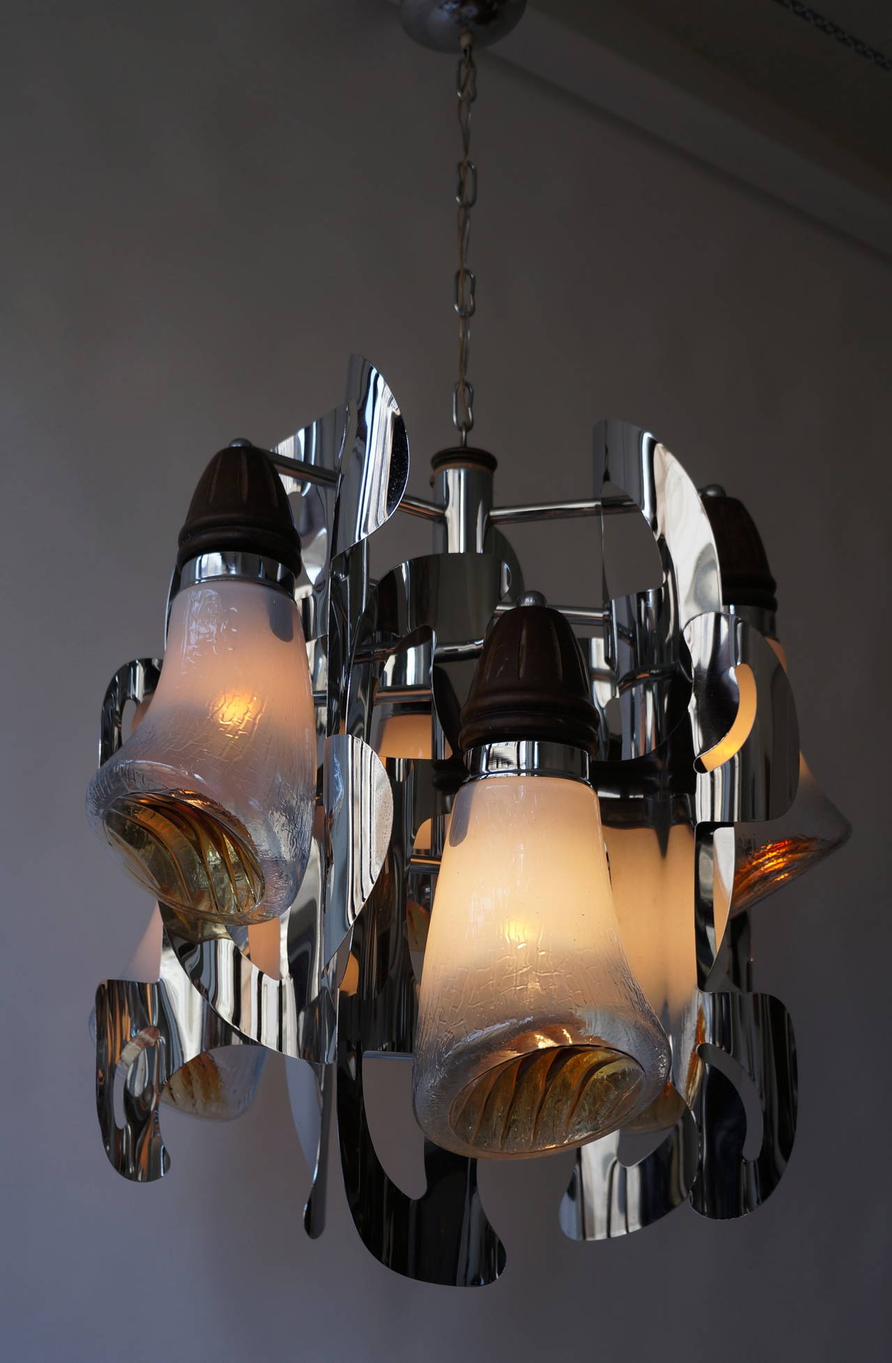 Mazzega Murano Chandelier In Good Condition For Sale In Antwerp, BE