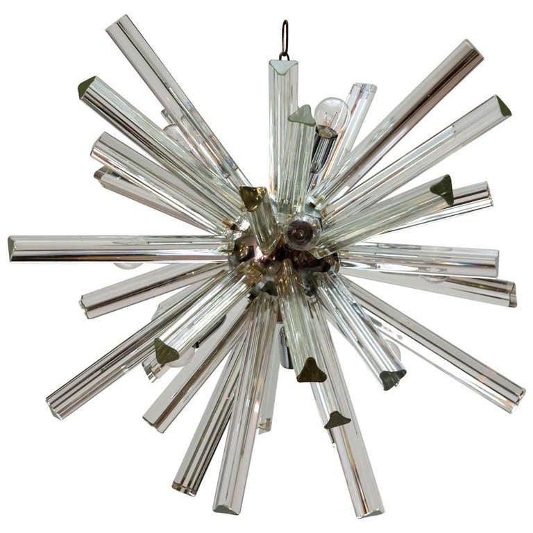 Venini Crystal Sputnik Chandelier At 1stdibs
