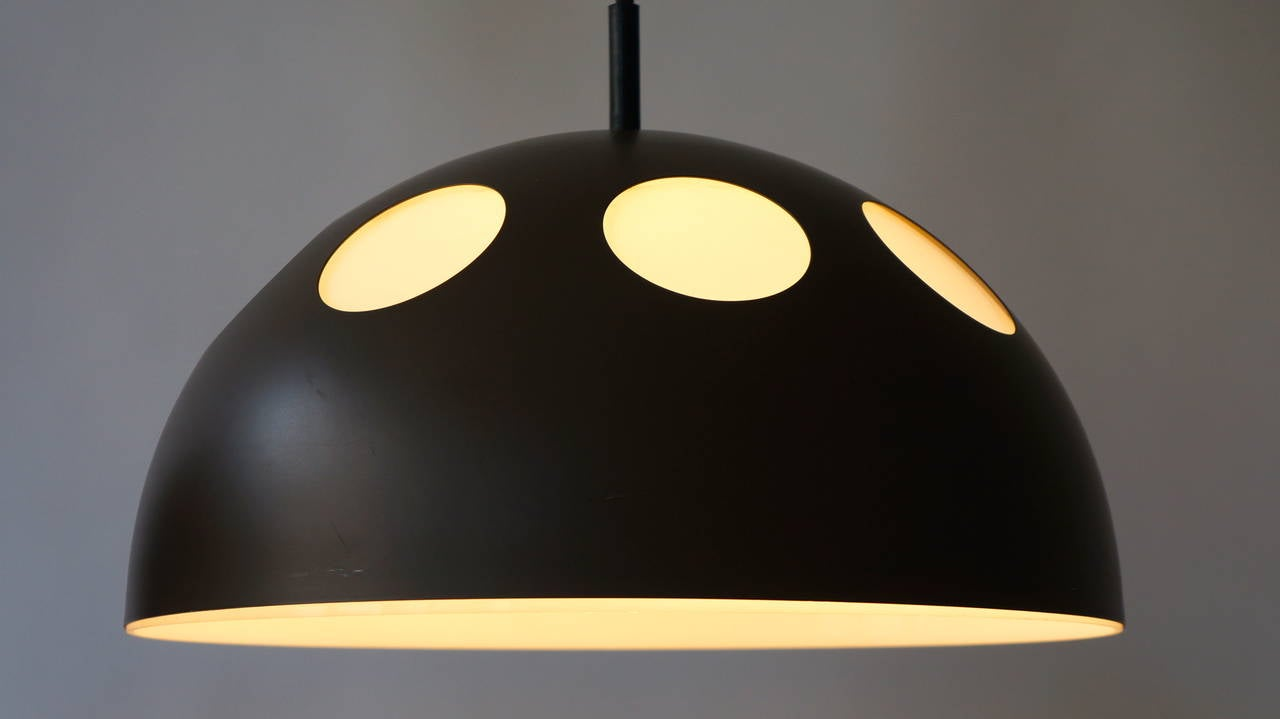 Dutch One of Two Pendant Lamps by RAAK For Sale