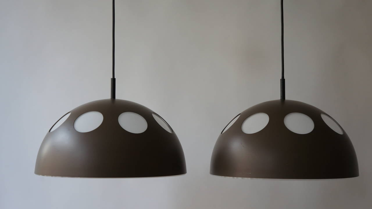 One of Two Pendant Lamps by RAAK For Sale 1