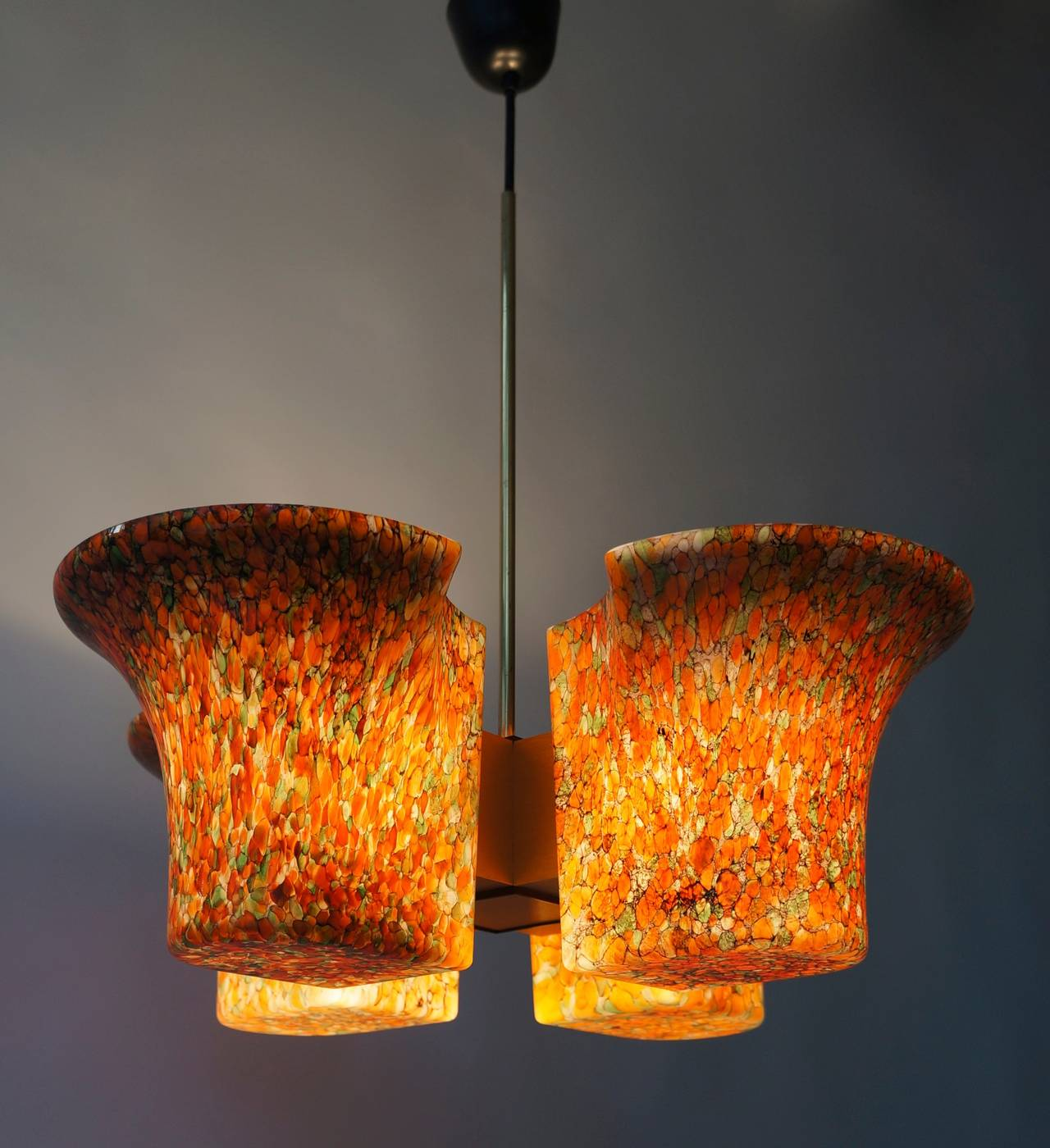 Italian Murano Chandelier In Good Condition For Sale In Antwerp, BE