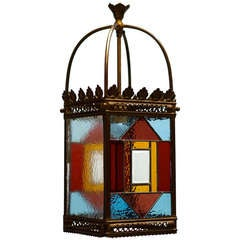 French Art Deco Lantern