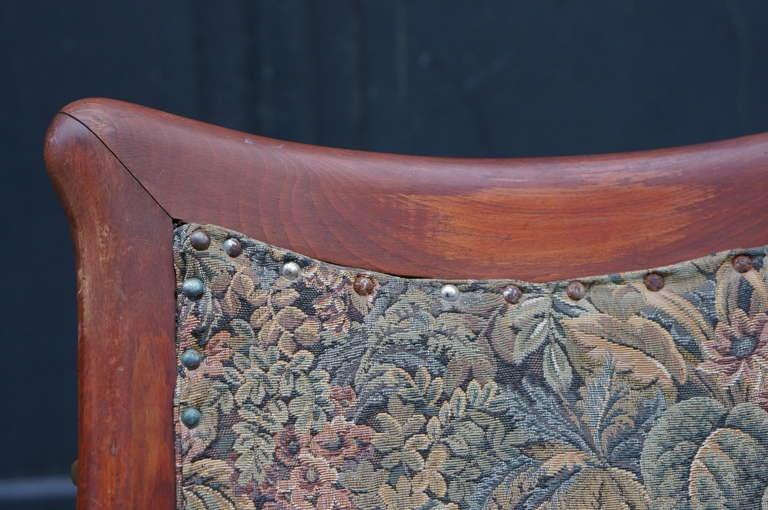 Italian Art Nouveau Barber Chair For Sale 3