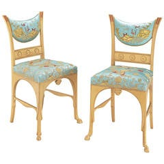 "Pair of J.P. Morgan ""Pompeiian"" Side Chairs"