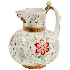 Aesthetic Floral Creamer in the Oriental Taste