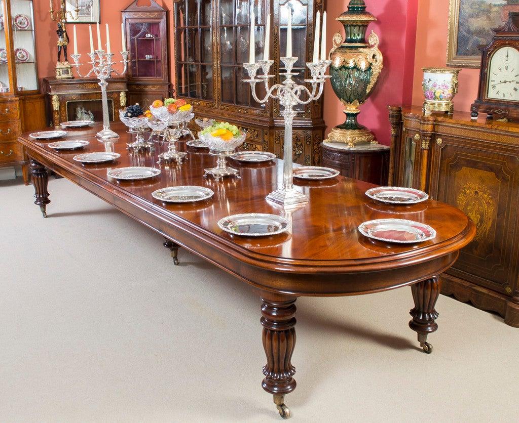 dining table sets mahogany