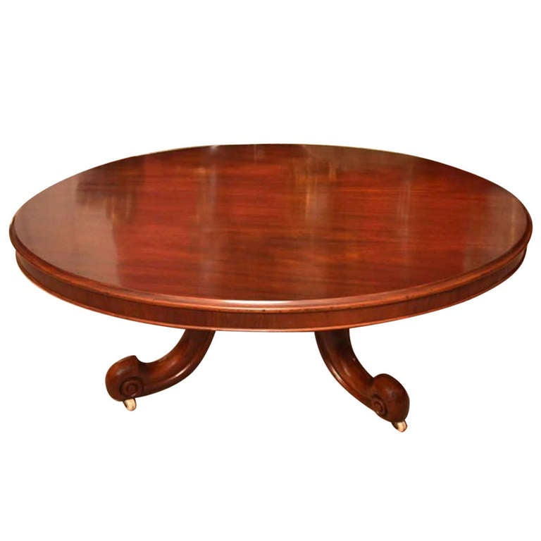 Antique Victorian Mahogany Coffee Table At 1stdibs