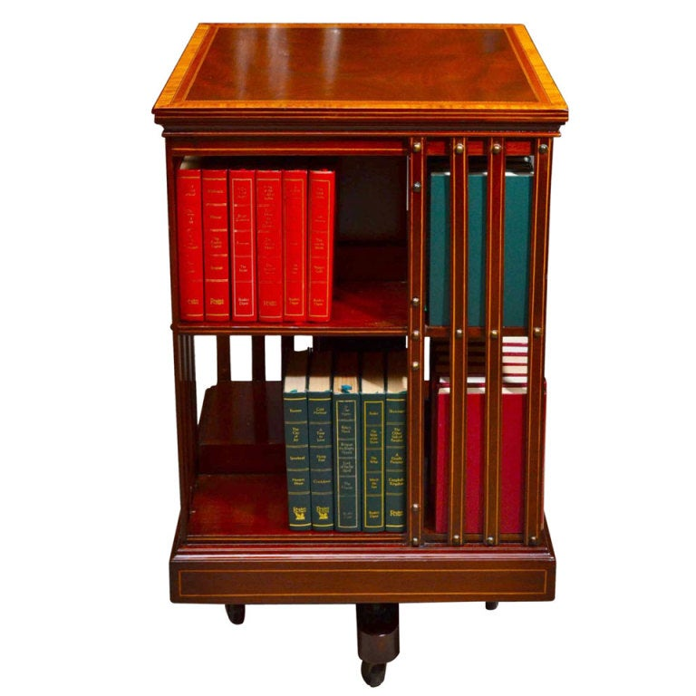 Image Result For Antique Revolving Bookcases