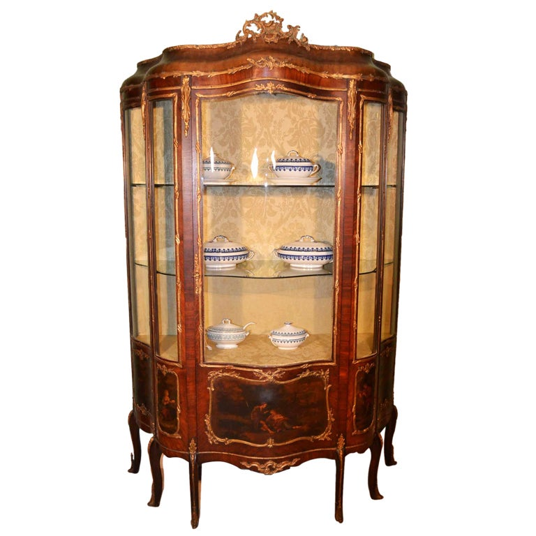 Xxx for Antique display cabinet