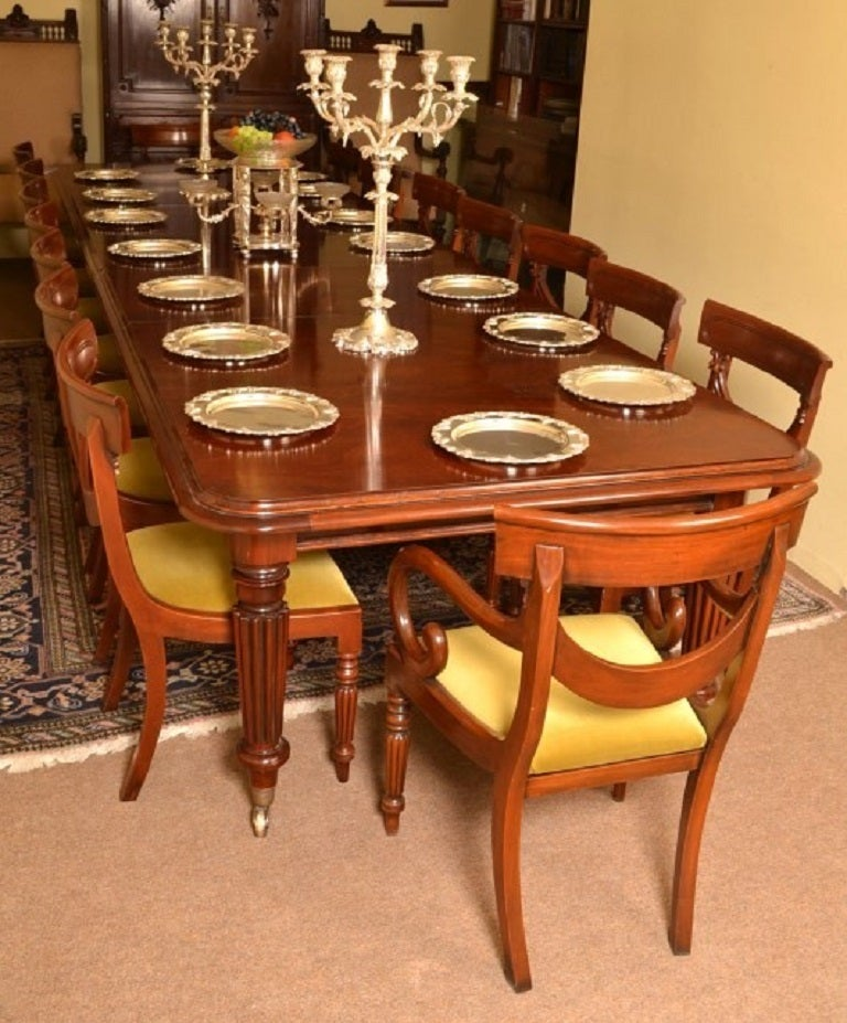 Vintage Victorian Dining Conference Table Ft Mahogany At Stdibs - 14 ft conference table