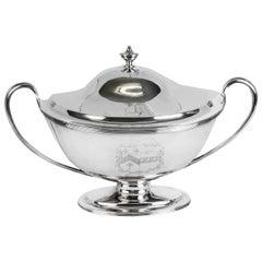 Antique Silver George III Tureen William Bennett 1808 Birchall and Hayne