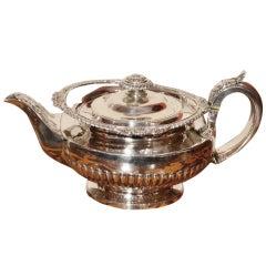 Antique Paul Storr Silver Teapot 1825