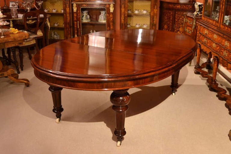 Antique 10ft victorian dining table and 10 chairs for 10 ft dining table sale