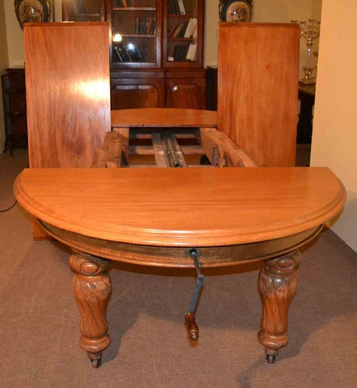 Victorian Dining Room Sets: Antique Victorian Dining Table & 10 Chairs Circa 1860 Image 9