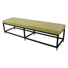 Custom Iron Platform Bench