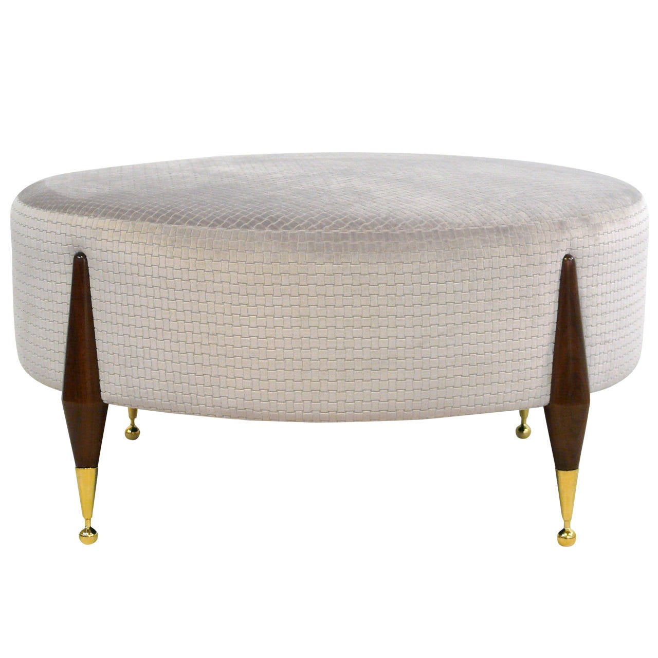 Imperial Ball Foot Ottoman Or Coffee Table For Sale At 1stdibs