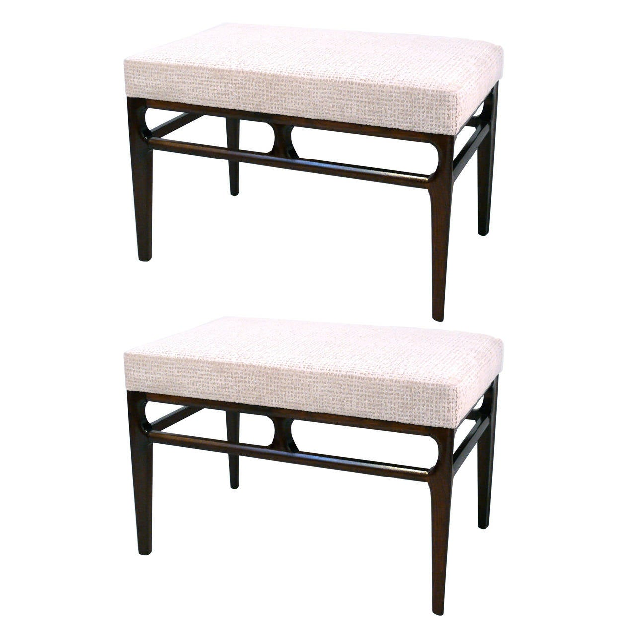 Pair Of Proportion Benches At 1stdibs