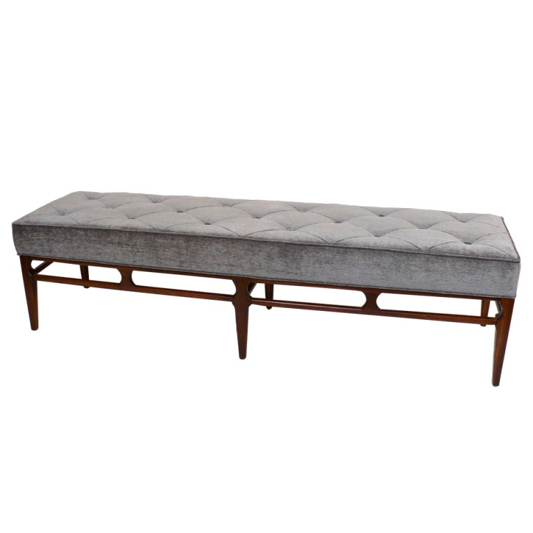 Proportion Tufted Bench At 1stdibs