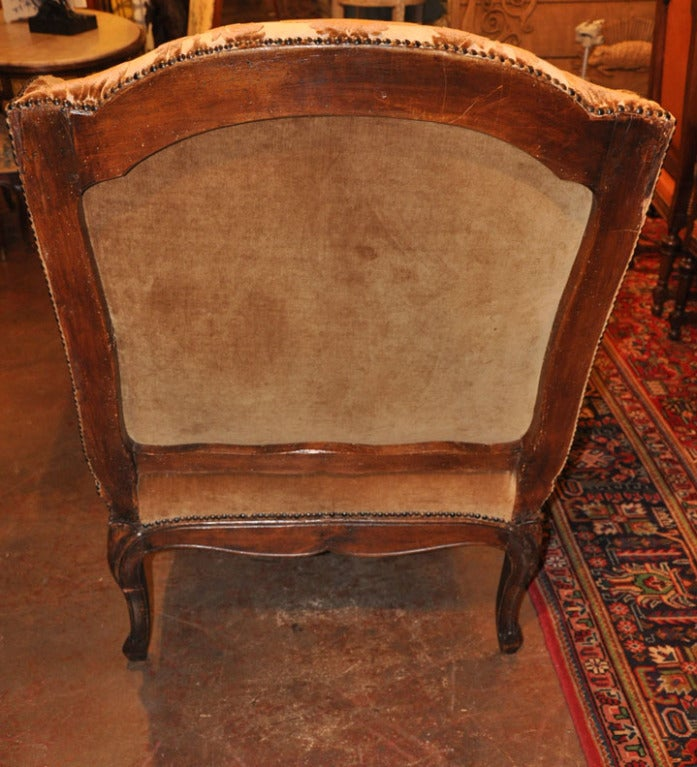 19th c oak chaise from normandy at 1stdibs for Chaise interiors inc
