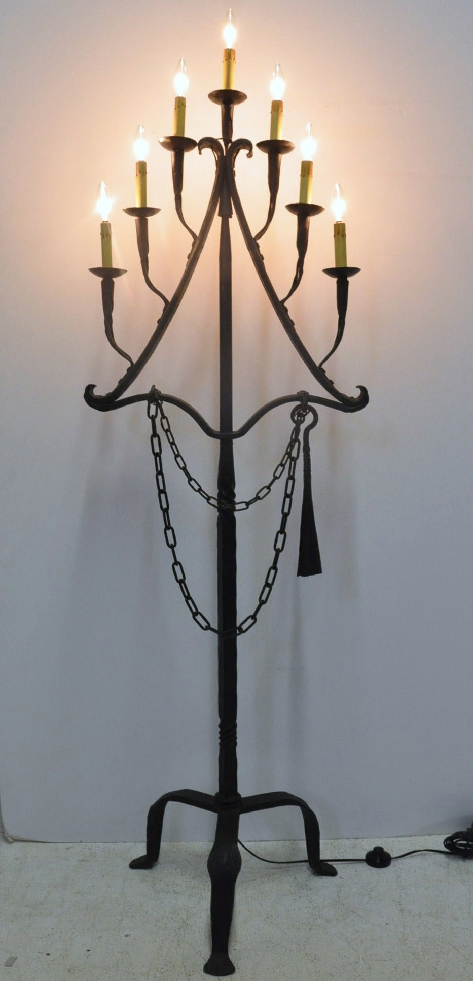 100 Floor Candle Holders Wrought Iron Standing