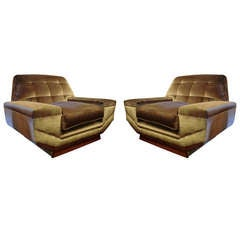 1970's Pair of Armchairs