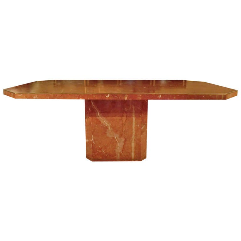 1970 39 s willy rizzo marble table for Table willy rizzo