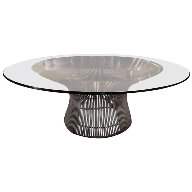 1970s Warren Platner Coffee Table At 1stdibs