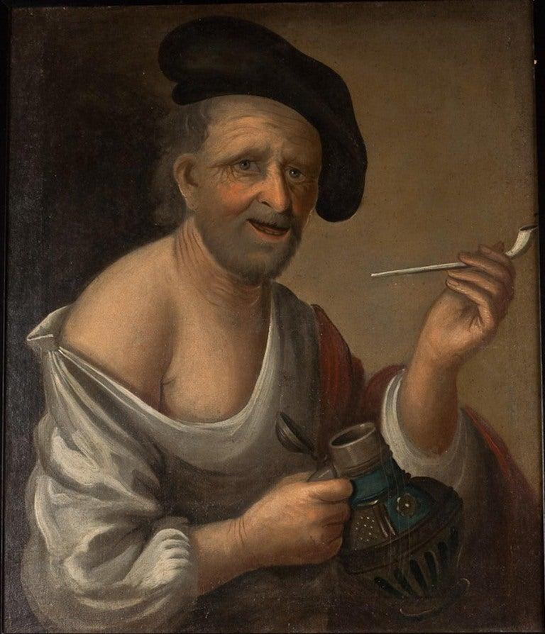 Dutch or German School, Portrait of an Old Man, Oil on Canvas, 18th-19th Century 2