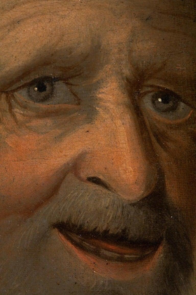 Dutch or German School, Portrait of an Old Man, Oil on Canvas, 18th-19th Century 5