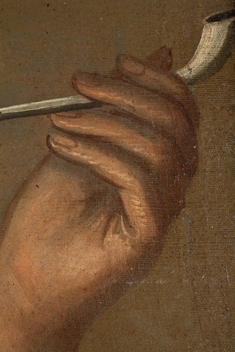Dutch or German School, Portrait of an Old Man, Oil on Canvas, 18th-19th Century 10