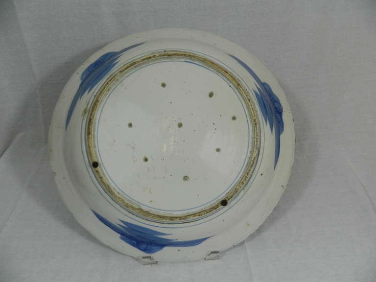 19th Century Large Japanese Arita Charger For Sale 4