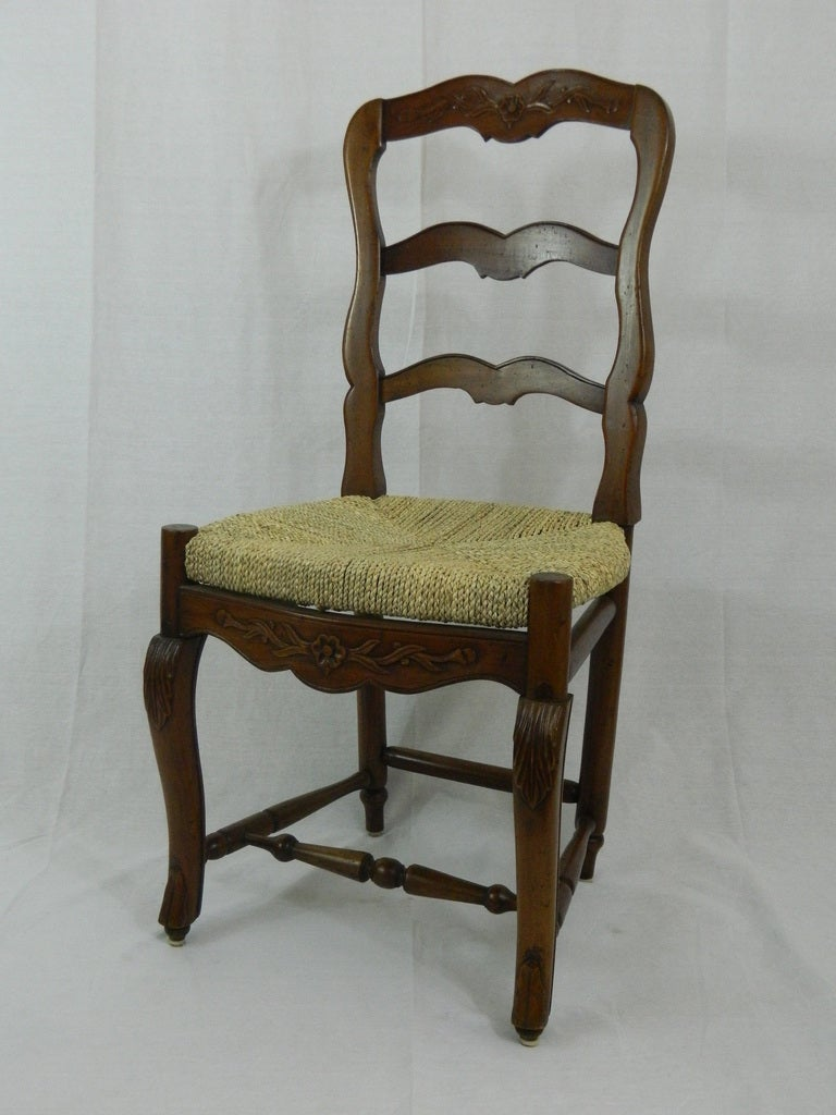 french provincial dining room chairs set of six provincial style walnut dining chairs at 6626