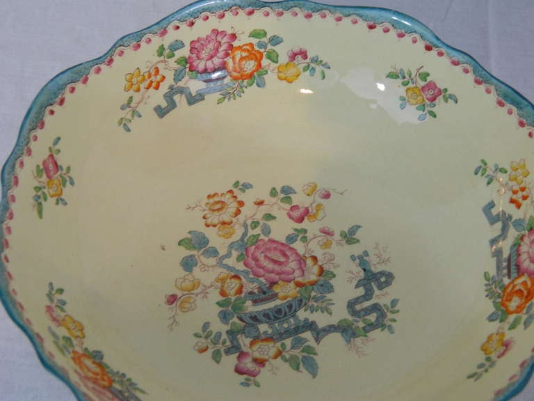 Ironstone Set of Mason's Ashworth Earthenware Serving Service, Late 19th Century For Sale