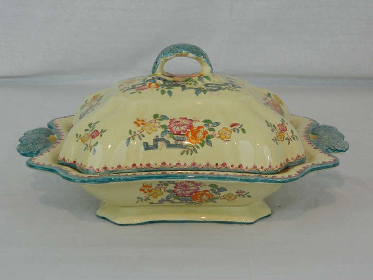 Set of Mason's Ashworth Earthenware Serving Service, Late 19th Century For Sale 1