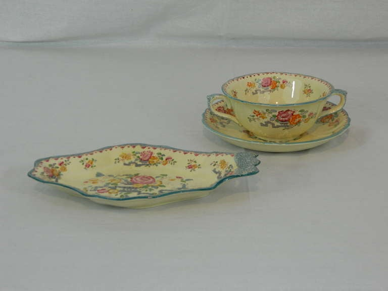 Set of Mason's Ashworth Earthenware Serving Service, Late 19th Century For Sale 2