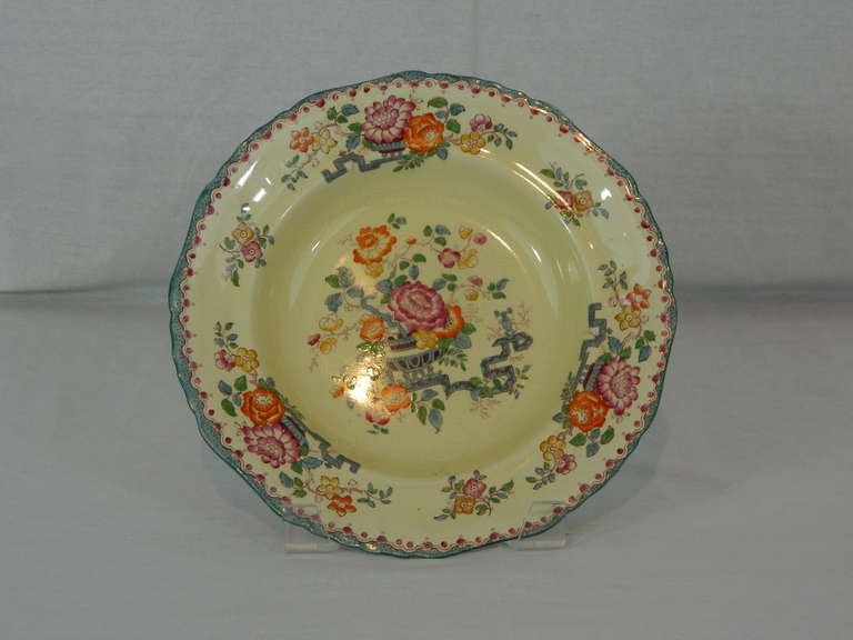 Set of Mason's Ashworth Earthenware Serving Service, Late 19th Century For Sale 3