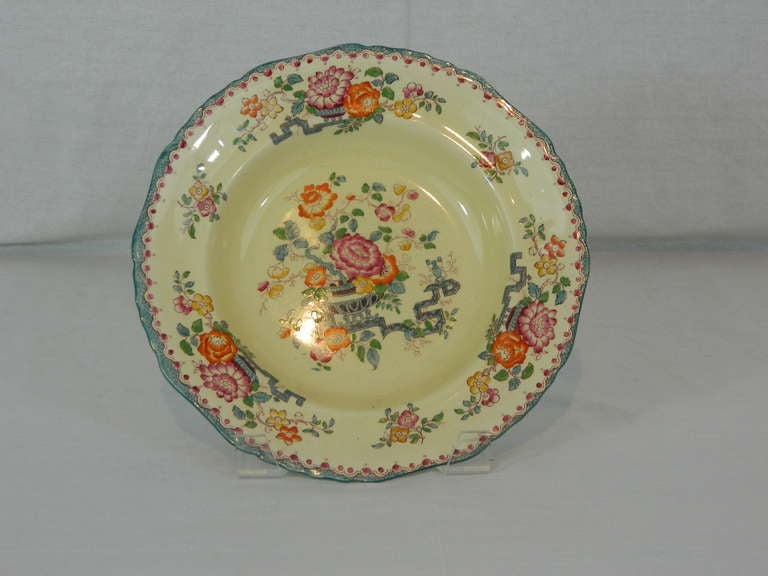 Set of Mason's Ashworth Earthenware Serving Service, Late 19th Century For Sale 4