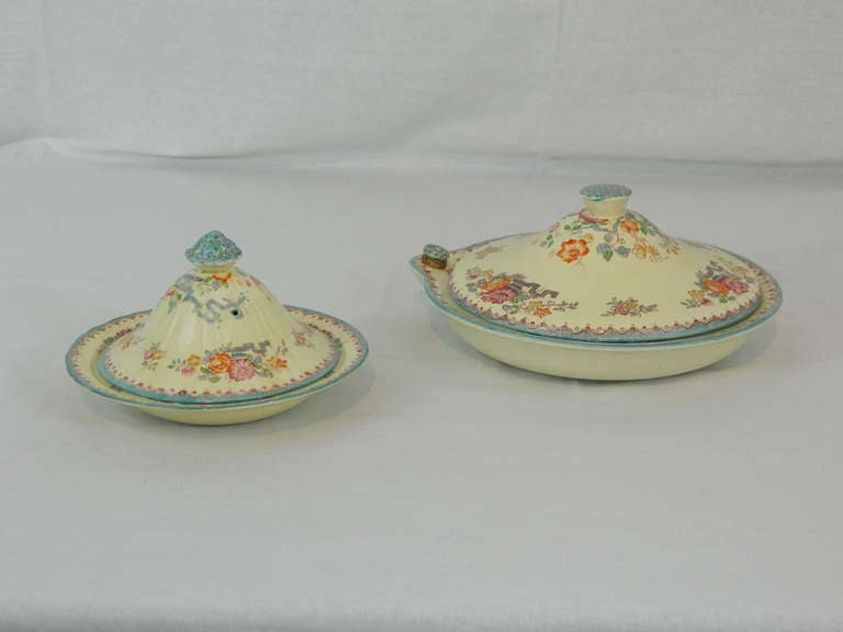 Set of Mason's Ashworth Earthenware Serving Service, Late 19th Century For Sale 5