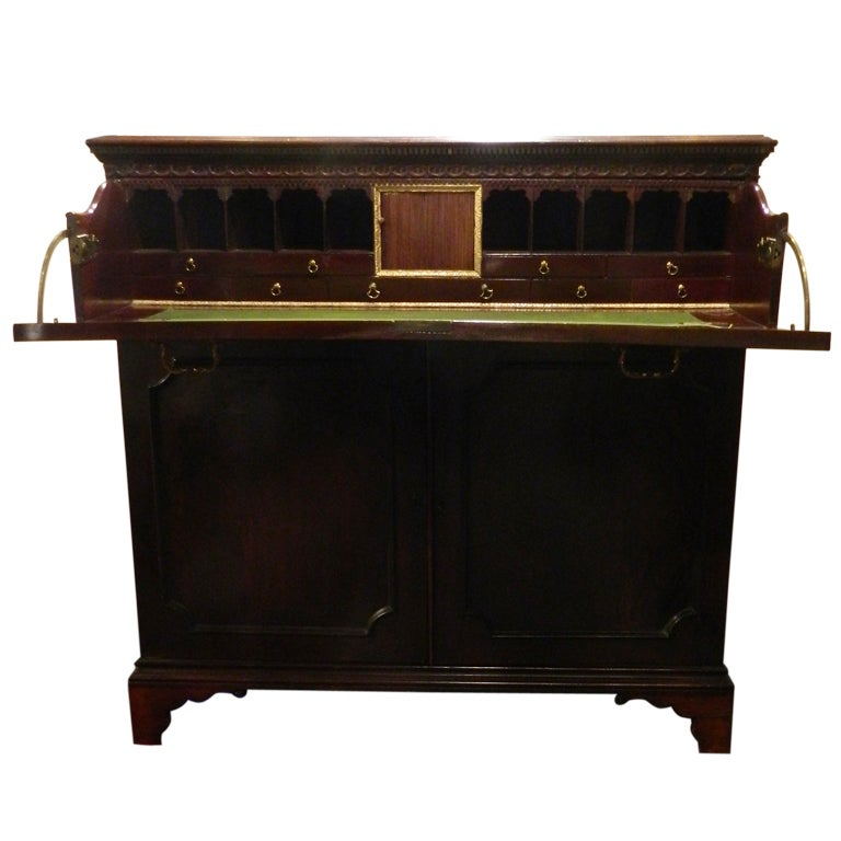 Circa 1825 english mahogany butlers desk for sale at 1stdibs for Furniture 1825
