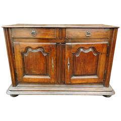 19th Century French Oak Louis XIV Style Buffet