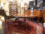 English Double Pedestal Mahogany Dining Table image 2