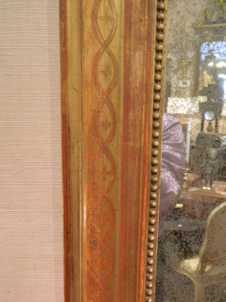 19th Century Louis Philippe Mirror In Good Condition For Sale In Savannah, GA
