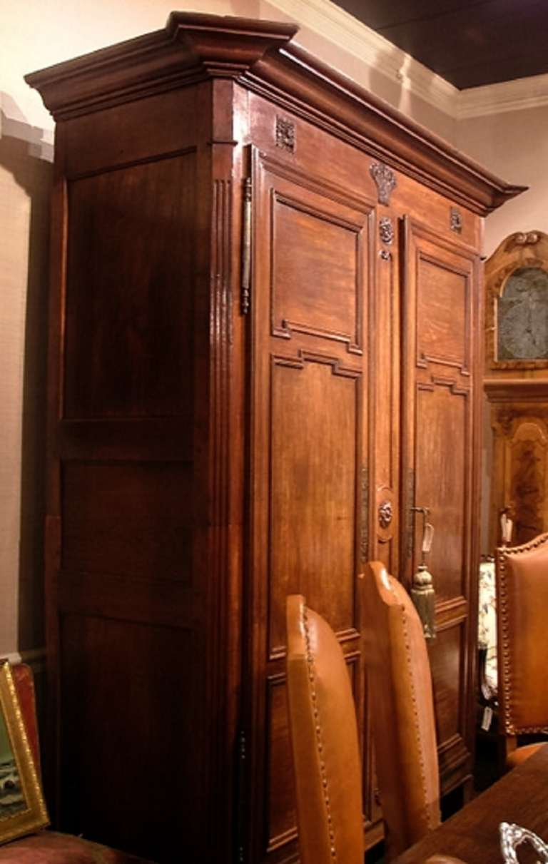 French Moulded And Carved Oak Armoire, Circa 1850 At 1stdibs