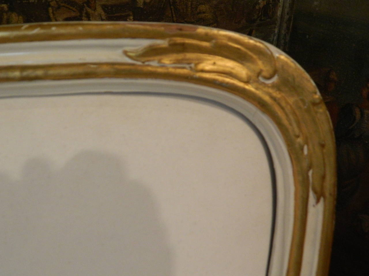 Gustavian Painted and Parcel Gilt Canape or Sofa, 19th Century For Sale 3