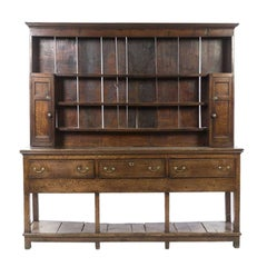 18th Century English Oak Welsh Dresser