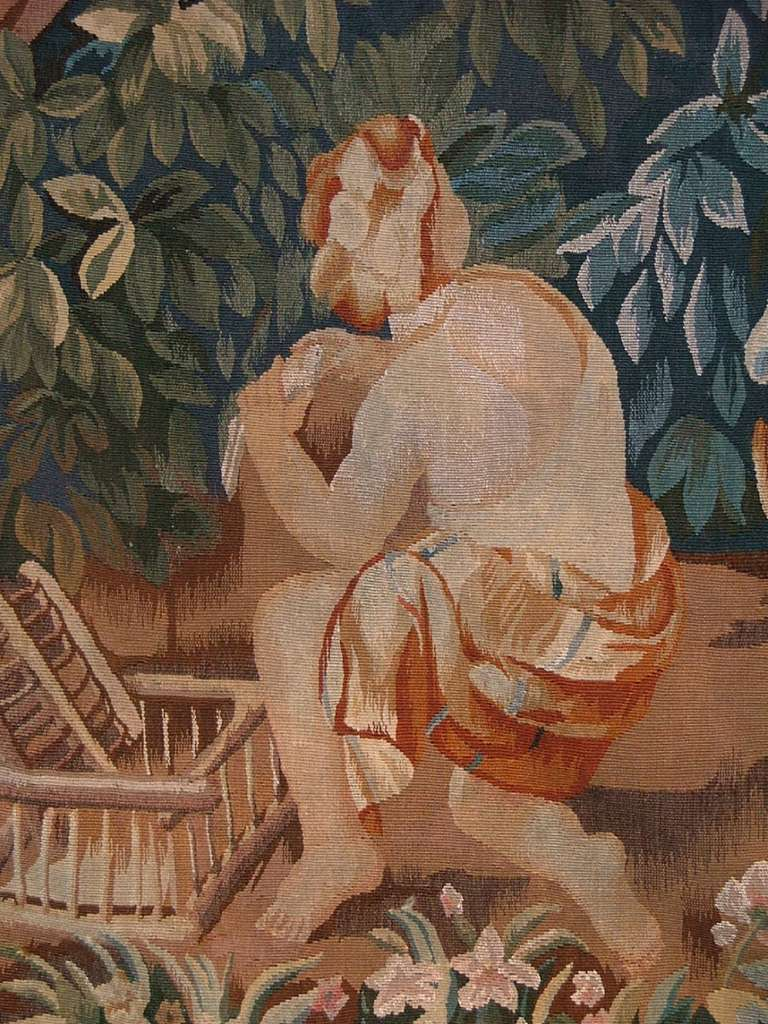 Aubusson Style Tapestry \